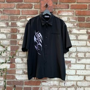Dragonfly Clothing Co. Tribal 90's Button Down